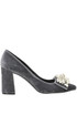 Velvet pumps Helia