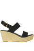 Suede wedge espadrillas FrenchTrotters