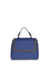 Sveva Chain grainy leather bag Orciani
