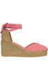 Chiara canvas wedge espadrillas Castaner