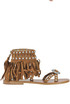 Mary J fringed suede sandals Ash