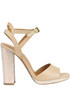 Leather sandals Tiffi