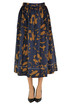 Printed cotton skirt Marni
