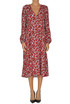 Flower print midi dress Traffic People