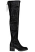 Eco-leather over the knee boots Liu Jo