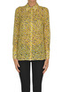 Animal print georgette shirt Elisabetta Franchi