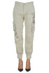 Embellished cargo style trousers Twin Set My Twin