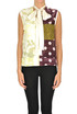 Patchwork print top Golden Goose Deluxe Brand