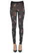 Flower print wool leggings Forte_Forte