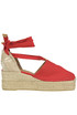 Campesina canvas wedge espadrillas Castaner