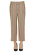 Ivy striped trousers Dondup
