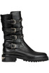 Studde leather biker boots John Richmond