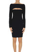 Stretch knit sheat dress T Alexander Wang