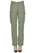 Lyocell trousers Michael Michael Kors
