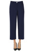 Cropped wool trousers Michael Michael Kors