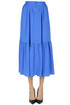 Viscose-blend midi skirt Closed