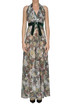 Flower print long dress Gil Santucci