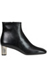 Bam Bam leather ankle boots Céline