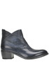 Old-looking effect leather ankle-boots Shoto