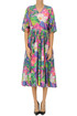 Flower print cotton dress Sofie D'Hoore
