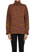 Striped turtleneck pullover Missoni