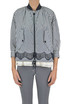Istress striped cloth jacket Moncler