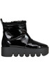Padded patent-leather boots Mollis