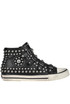 Vito studded leather sneakers Ash
