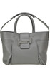 Double T medium shopping bag Tod's
