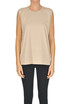 Embellished cotton top Dries Van Noten
