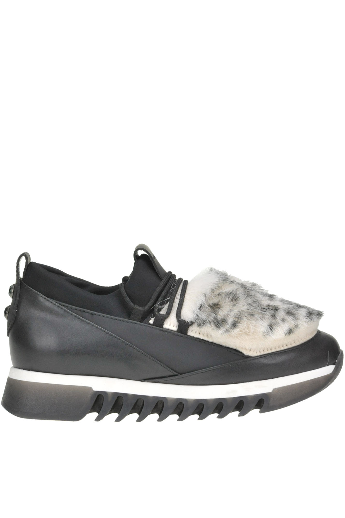 Alexander Smith ECO-FUR INSERT SNEAKERS