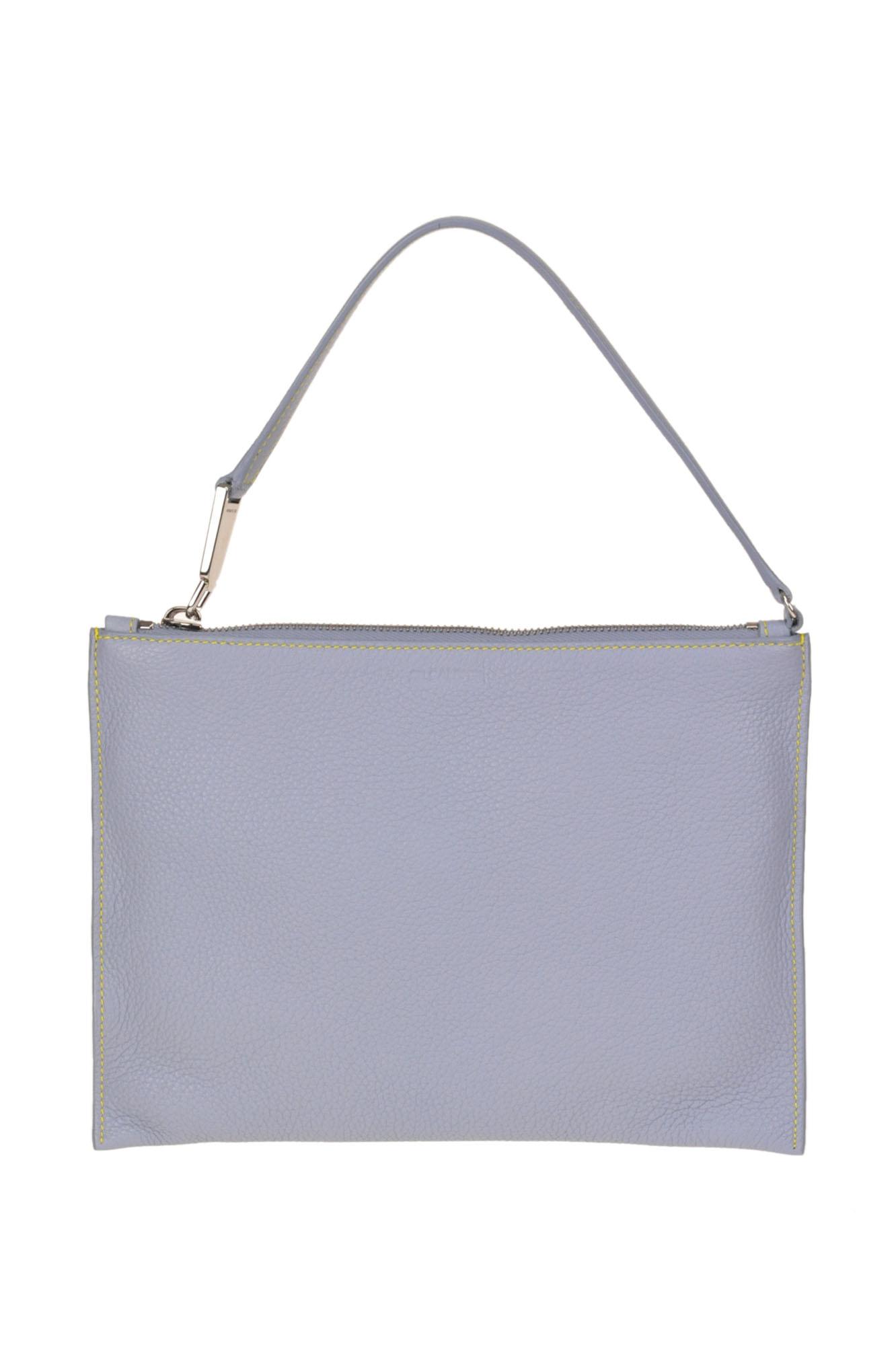 9e80d90612 Jil Sander Leather Envelope Bag In Sugar Paper | ModeSens