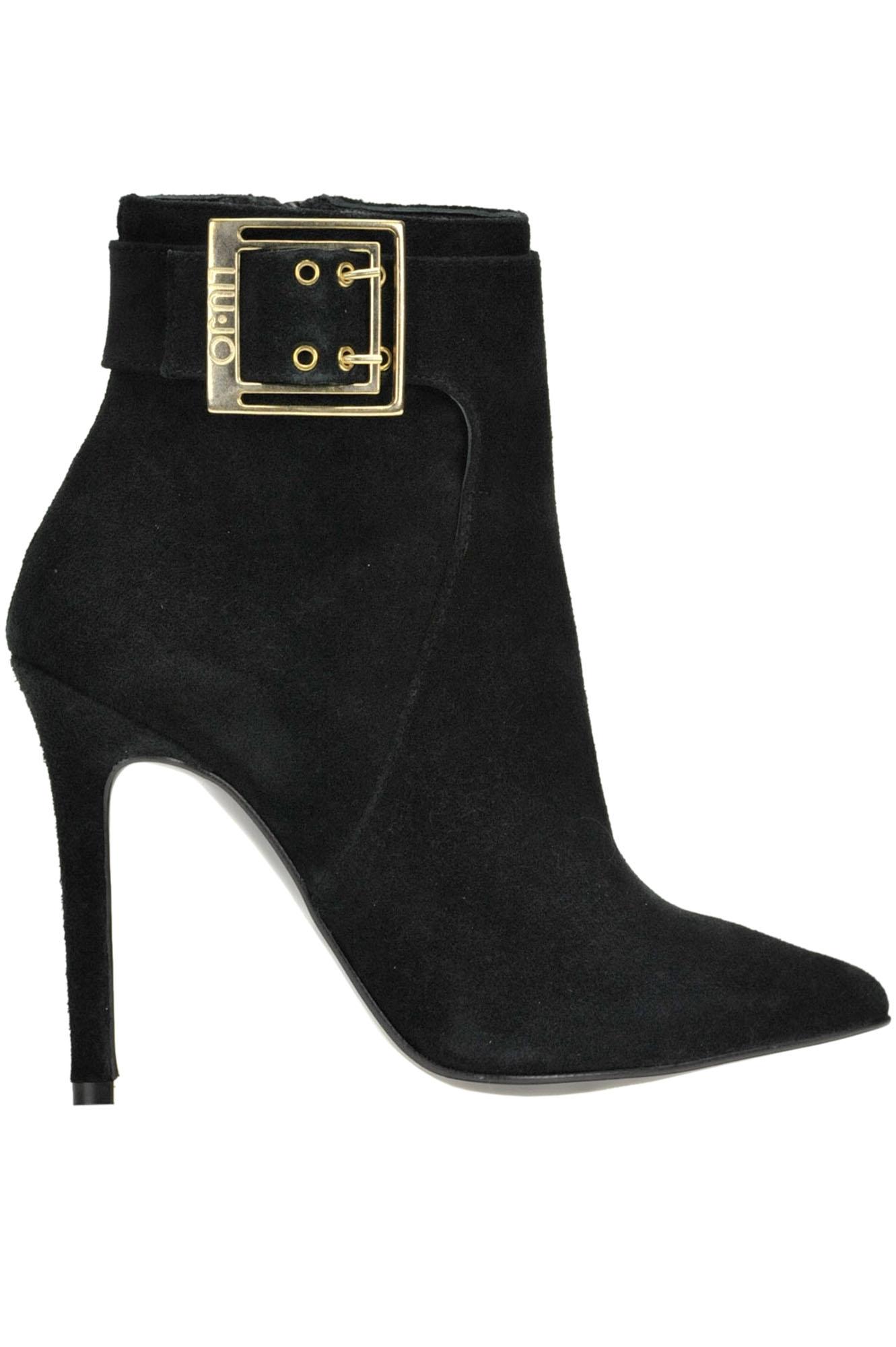 LIU •JO Liu Jo Women'S  Black Suede Ankle Boots