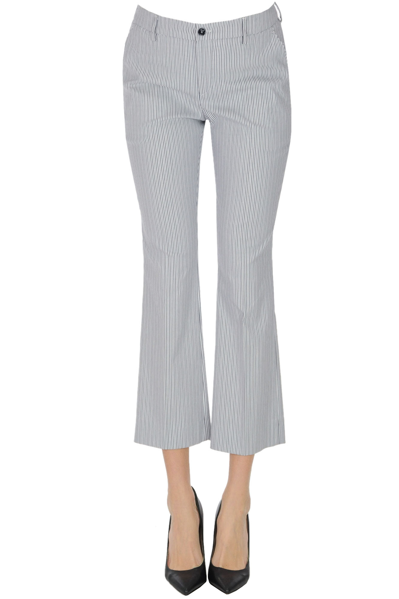 Pt01 JAINE STRIPED TROUSERS