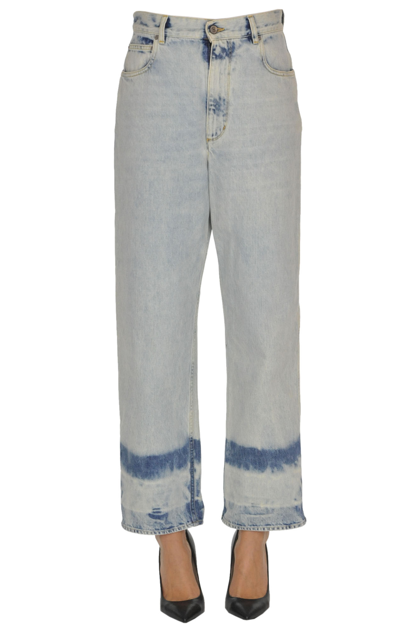 Golden Goose 'kim' Jeans In Light Denim